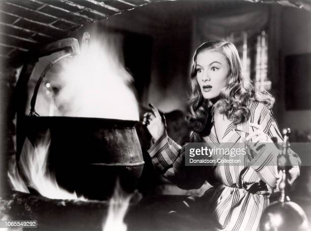 Actress Veronica Lake in a scene from the movie I Married a Witch