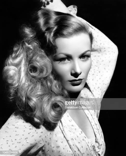 Actress Veronica Lake in a scene from the movie Ramrod