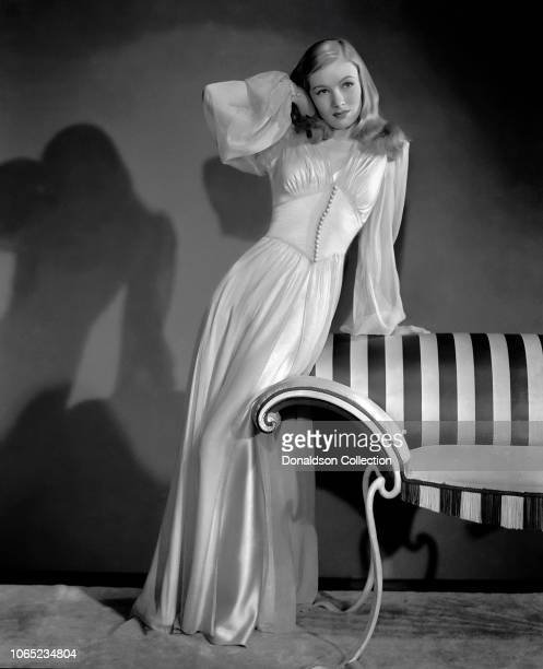 Actress Veronica Lake in a scene from the movie The Glass Key