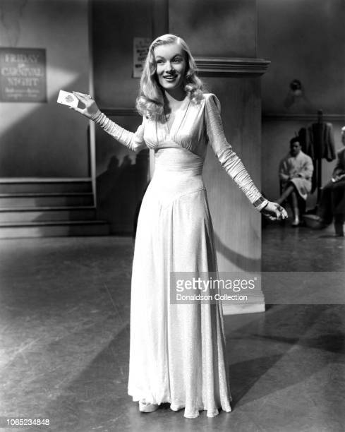 Actress Veronica Lake in a scene from the movie This Gun for Hire