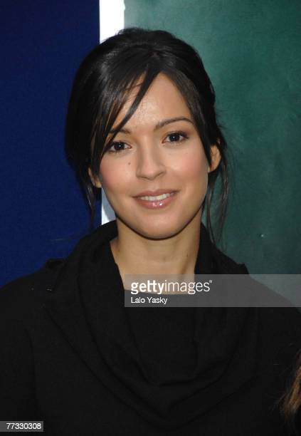 Actress Veronica Sanchez attends a photocall for Las 13 Rosas at Museo Cerralbo on October 15 2007 in Madrid Spain