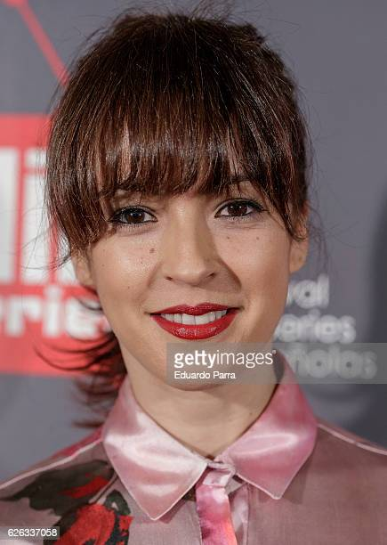 Actress Veronica Sanchez attends the 'MIM awards' photocall at ME hotel on November 28 2016 in Madrid Spain