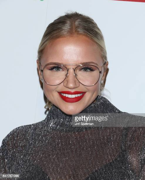 Actress Veronika Dash attends the premiere of 'Manolo The Boy Who Made Shoes For Lizards' hosted by Manolo Blahnik with The Cinema Society at The...