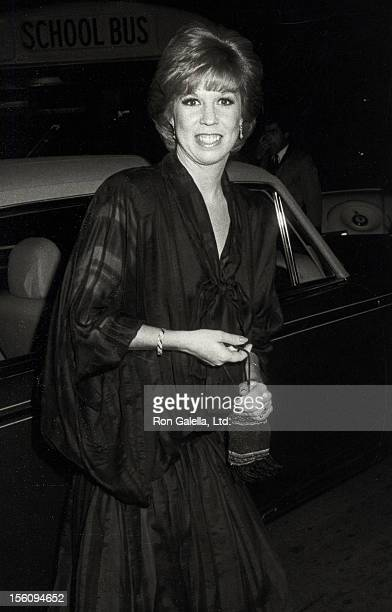 Actress Vicki Lawrence attending 'The All Star Party for Frank Sinatra' on November 20 1983 at NBC TV Studios in Burbank California