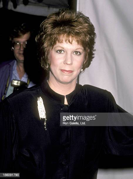 Actress Vicki Lawrence attends the Variety Club's AllStar Tribute to President Ronald Reagan and Nancy Reagan on December 1 1985 at NBC Studios in...
