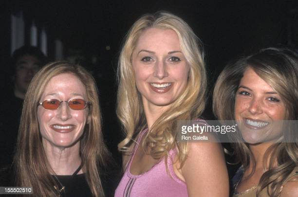 Actress Vicki Lewis actress Katherine LaNasa and actress AJ Langer attend the NBC Upfront Party on May 15 2000 at Ruby Foo's in New York City
