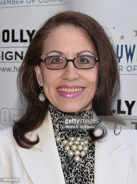 Actress Vicki Roberts attends The Hollywood Chamber of Commerce The Hollywood Sign Trust's 90th Celebration of the Hollywood Sign at Drai's Hollywood...