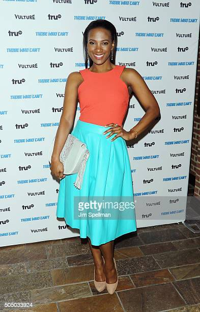 Actress Vicky Jeudy attends the NYMag Vulture TruTV present Those Who Can't at Roxy Hotel on January 14 2016 in New York City