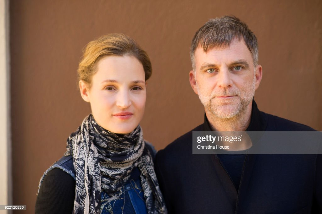 Actress Vicky Krieps and director Paul Thomas Anderson are photographed for Los Angeles Times on December 7, 2017 in Beverly Hills, California. PUBLISHED IMAGE.