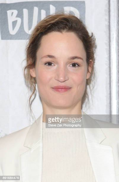 Actress Vicky Krieps attends Build Series to discuss 'Phantom Thread' at Build Studio on December 13 2017 in New York City