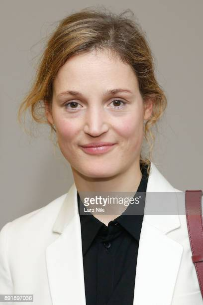 Actress Vicky Krieps attends The Academy of Motion Picture Arts Sciences Official Academy Screening of Phantom Thread at MOMA on December 12 2017 in...