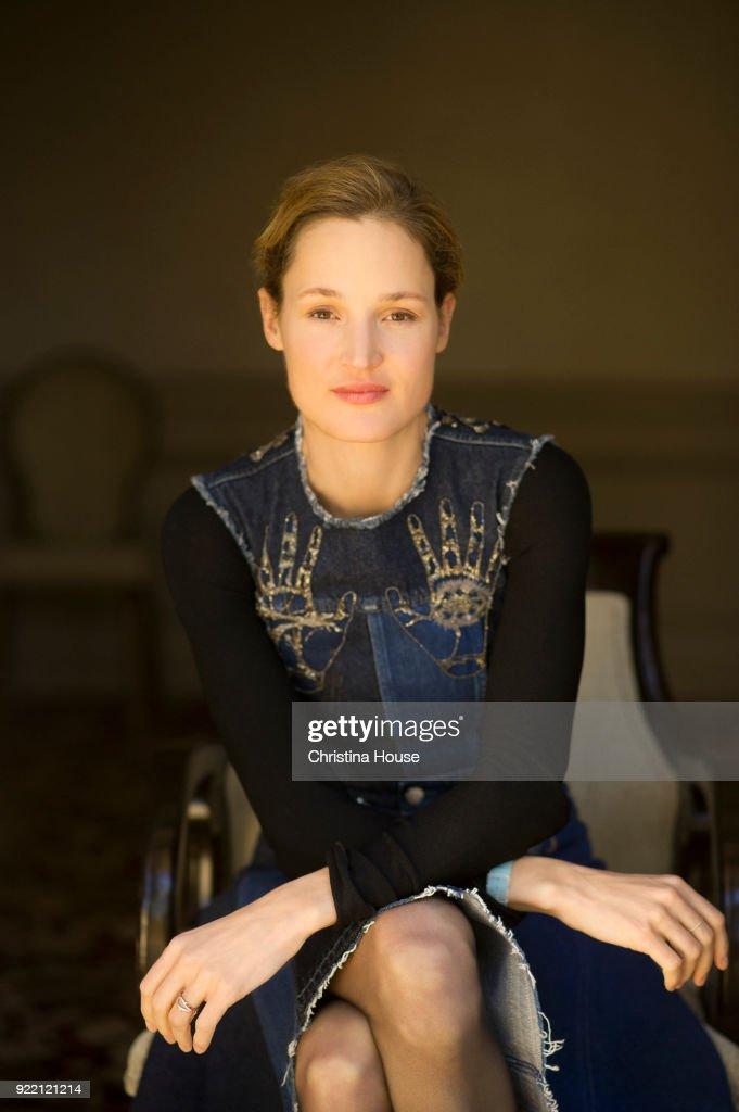 Vicky Krieps, Los Angeles Times, January 24, 2018 : News Photo