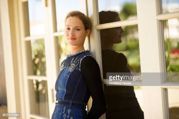 Actress Vicky Krieps is photographed for Los Angeles Times on December 7 2017 in Beverly Hills California PUBLISHED IMAGE CREDIT MUST READ Christina...