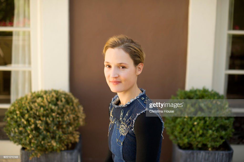 Actress Vicky Krieps is photographed for Los Angeles Times on December 7, 2017 in Beverly Hills, California. PUBLISHED IMAGE.