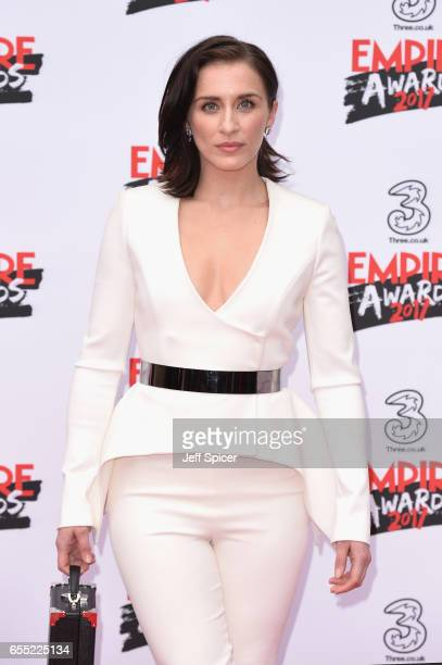 Actress Vicky McClure attends the THREE Empire awards at The Roundhouse on March 19 2017 in London England