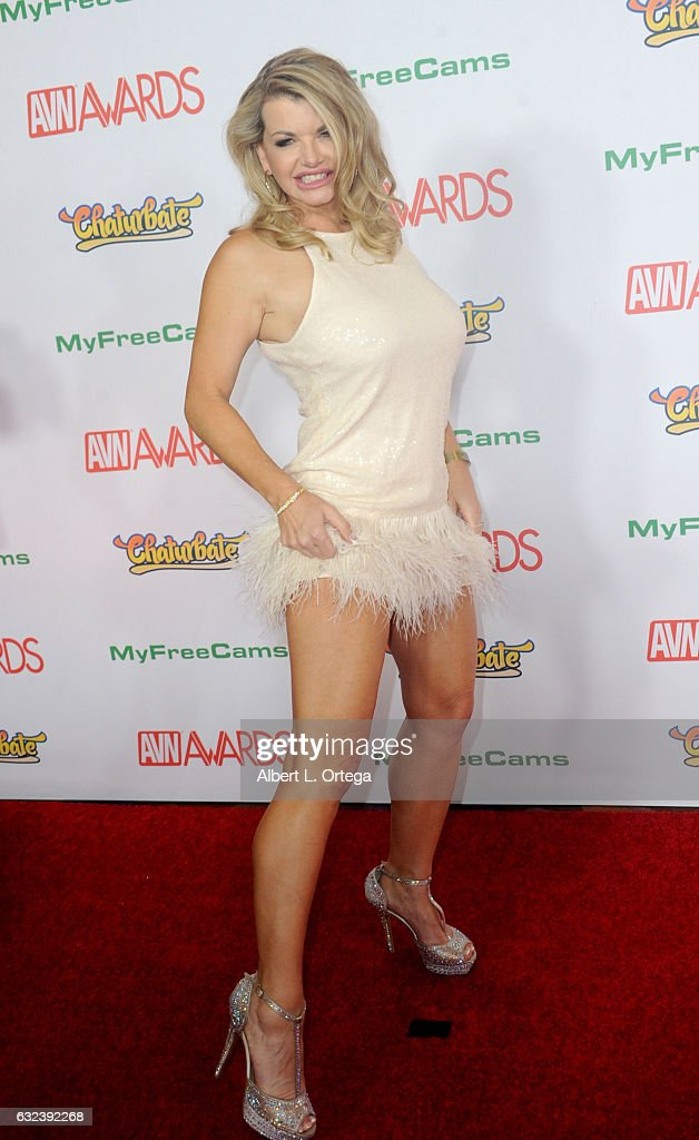 Actress Vicky Vette arrives at the 2017 Adult Video News Awards held at the Hard Rock Hotel & Casino on January 21, 2017 in Las Vegas, Nevada.