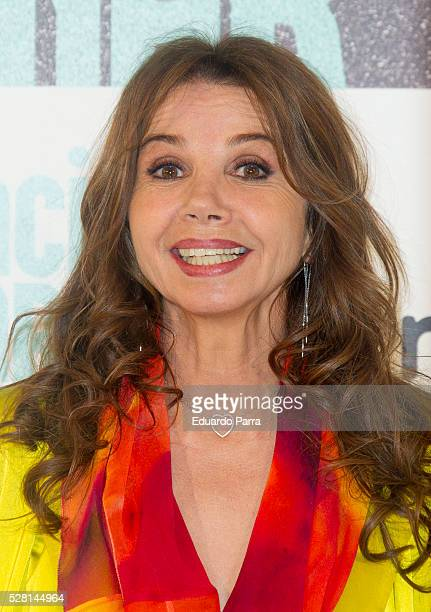 Actress Victoria Abril attends the 'Nacida para ganar' photocall at Eurobuilding hotel on May 04 2016 in Madrid Spain