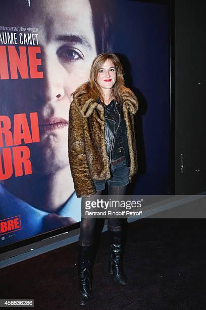 Actress Victoria Bedos attends the 'La prochaine fois je viserai le coeur' Paris Premiere at UGC Cine Cite Bercy on November 11 2014 in Paris France