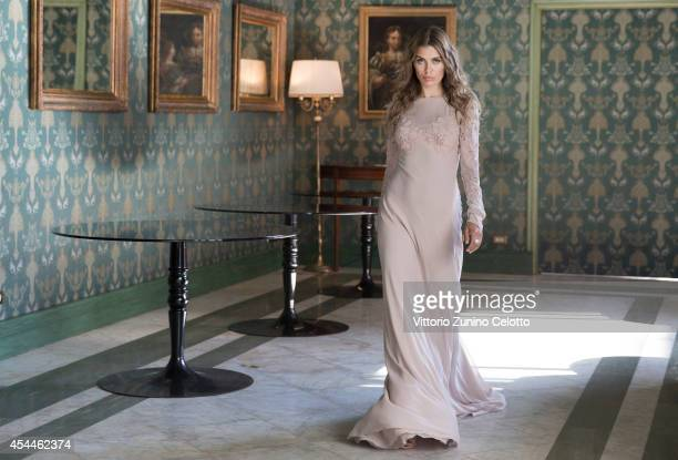 Actress Victoria Bonya is photographed for Self Assignment on September 1 2014 in Venice Italy