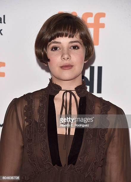 Actress Victoria Bruno attends the 'Wakefield' premiere during the 2016 Toronto International Film Festival at Princess of Wales Theatre on September...