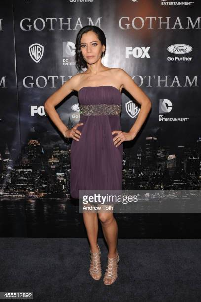 Actress Victoria Cartagena attends the 'Gotham' Series Premiere at The New York Public Library on September 15 2014 in New York City