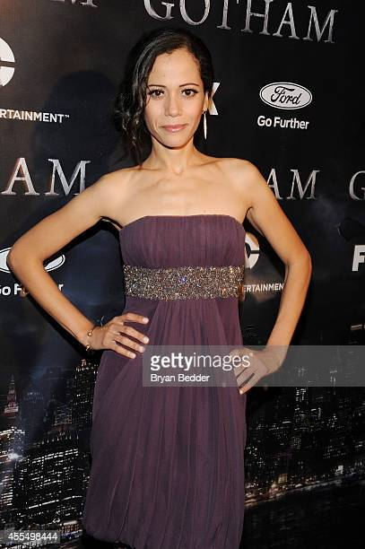 Actress Victoria Cartagena attends the GOTHAM Series Premiere event on September 15 2014 in New York City