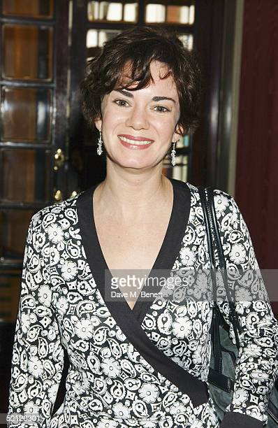 Actress Victoria Hamilton who won Best Actress for 'Suddenly Last Summer' attends The Critics' Circle Theatre Awardsat the Theatre Royal on February...