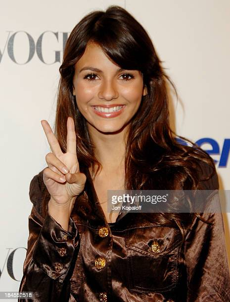 Actress Victoria Justice arrives at the 'Teen Vogue Young Hollywood Party' at Vibiana on September 20 2007 in Los Angeles California