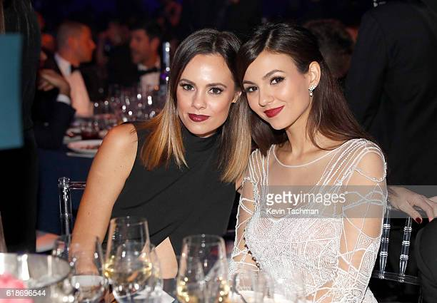 Actress Victoria Justice attends amfAR's Inspiration Gala at Milk Studios on October 27 2016 in Hollywood California