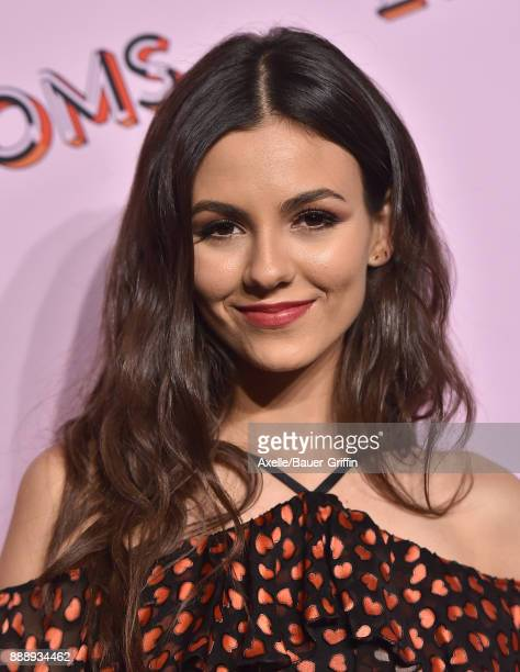 Actress Victoria Justice attends Refinery29 29Rooms Los Angeles Turn It Into Art at ROW DTLA on December 6 2017 in Los Angeles California