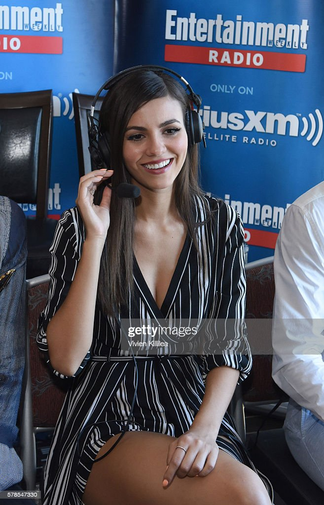 Actress Victoria Justice attends SiriusXM's Entertainment Weekly Radio Channel Broadcasts From Comic-Con 2016 at Hard Rock Hotel San Diego on July 21, 2016 in San Diego, California.