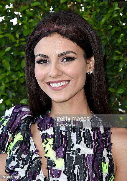 Actress Victoria Justice attends Teen Choice Awards 2016 at The Forum on July 31 2016 in Inglewood California