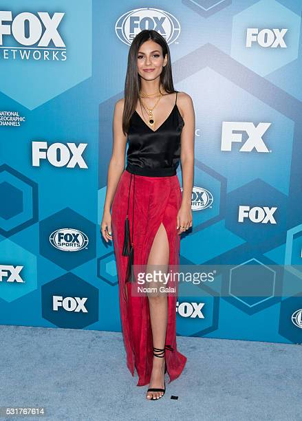 Actress Victoria Justice attends the 2016 Fox Upfront at Wollman Rink Central Park on May 16 2016 in New York City
