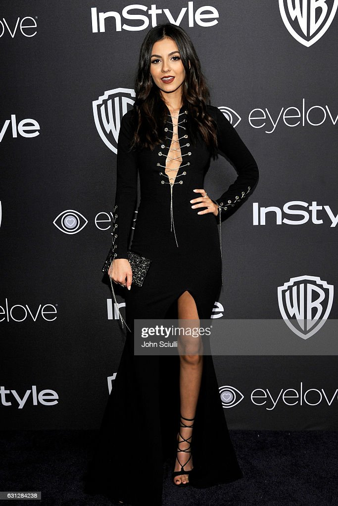 Actress Victoria Justice attends The 2017 InStyle and Warner Bros. 73rd Annual Golden Globe Awards Post-Party at The Beverly Hilton Hotel on January 8, 2017 in Beverly Hills, California.