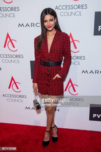 Actress Victoria Justice attends the 21st Annual Ace Awards at Cipriani 42nd Street on August 7 2017 in New York City