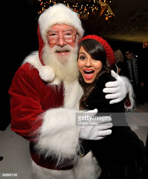 Actress Victoria Justice attends the after party for Merry Christmas Drake Josh at the Westside Pavillion on December 2 2008 in Westwood California