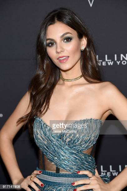 Actress Victoria Justice attends the Maybelline New York x V Magazine Party at the Nomo Soho Hotel on February 11 2018 in New York City