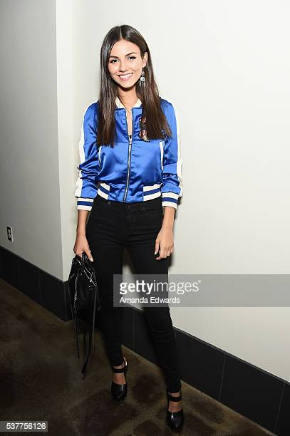 Actress Victoria Justice attends the premiere of 'FREE Cece' during the 2016 Los Angeles Film Festival at Arclight Cinemas Culver City on June 2 2016...