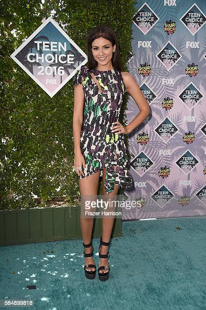 Actress Victoria Justice attends the Teen Choice Awards 2016 at The Forum on July 31 2016 in Inglewood California