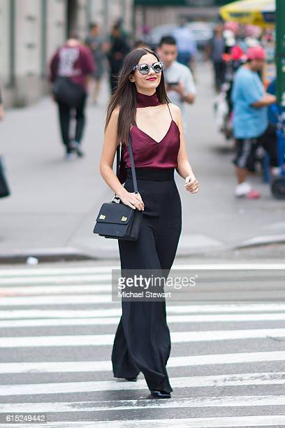 Actress Victoria Justice is seen in Midtown on October 17 2016 in New York City