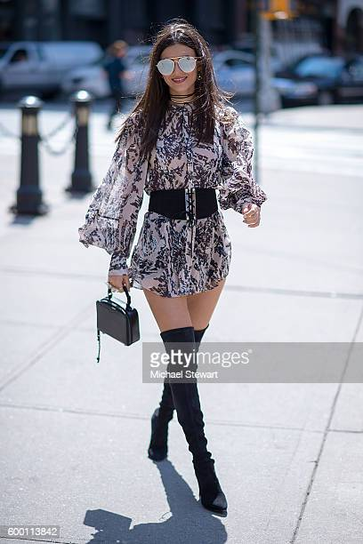 Actress Victoria Justice is seen in Tribeca on September 7 2016 in New York City