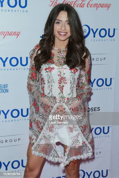 Actress Victoria Konefal attends the Jason Derulo's Just For You Foundation's Inaugural Heart Of Haiti Gala on September 6 2018 in Beverly Hills...