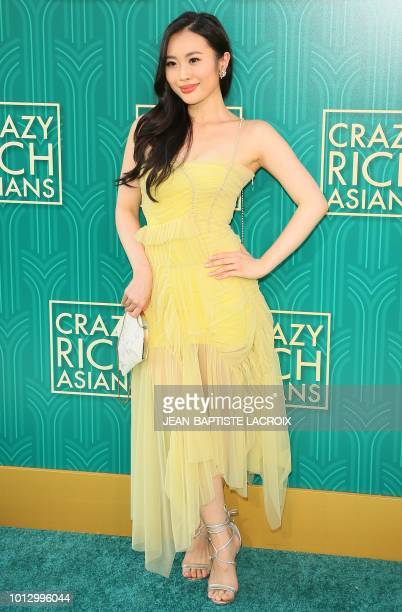 Actress Victoria Loke attends the premiere of Warner Bros Pictures' 'Crazy Rich Asians' in Hollywood California on August 7 2018