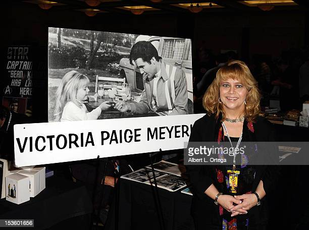 Actress Victoria Paige Meyerink participates in The Hollywood Show held at Burbank Airport Marriott Hotel Convention Center on October 6 2012 in...