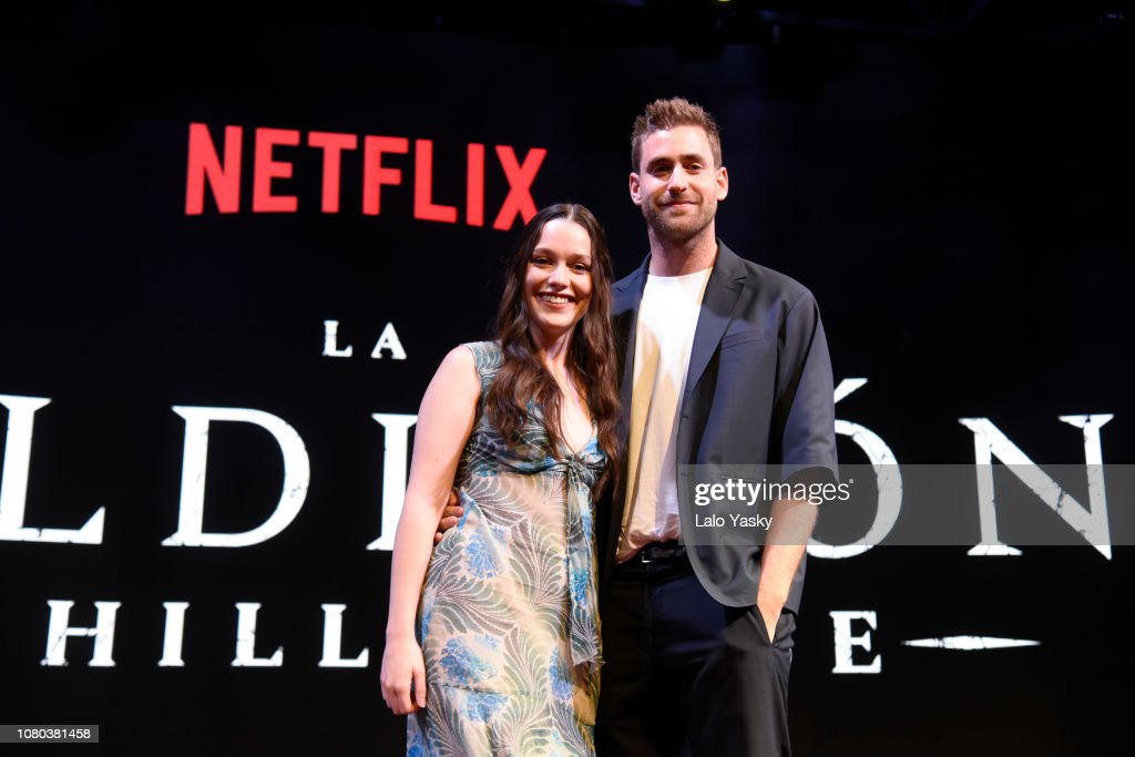 Actress Victoria Pedretti And Oliver Jackson Cohen Of The Hauting Of News Photo Getty Images