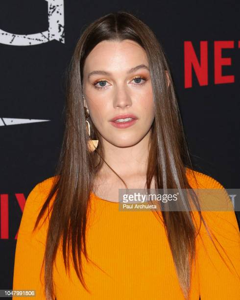 Actress Victoria Pedretti attends Netflix's The Haunting Of Hill House season 1 premiere at ArcLight Hollywood on October 8 2018 in Hollywood...