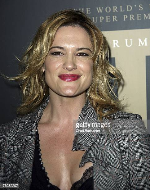 Actress Victoria Pratt attends Trump Vodka launch party at Les Deux on January 17, 2007 in Los Angeles, California.