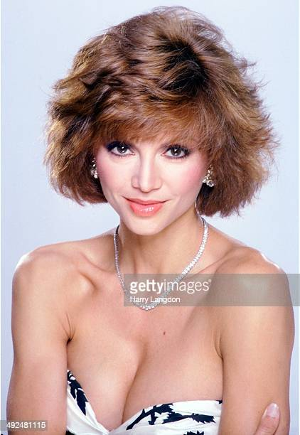 Actress Victoria Principal poses for a portrait in 1985 in Los Angeles California