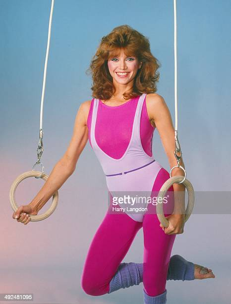 Actress Victoria Principal poses for a portrait in 1987 in Los Angeles California