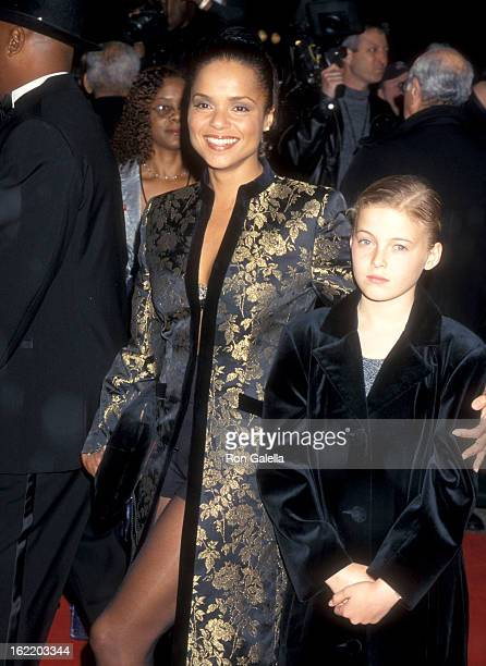 Actress Victoria Rowell and daughter Maya Fahey attend the 31st Annual NAACP Image Awards on February 12 2000 at Pasadena Civic Auditorium in...